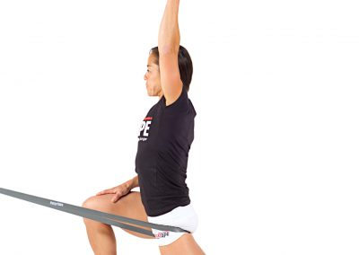 BANDED DISTRACTION FOR HOME EXERCISE PROGRAMS